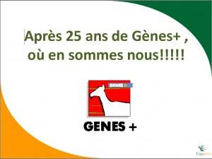 Après 25 ans de Gènes +