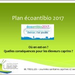Plan écoantibio 2017