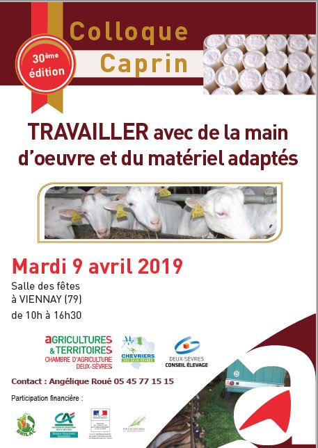 Affiche colloque caprin