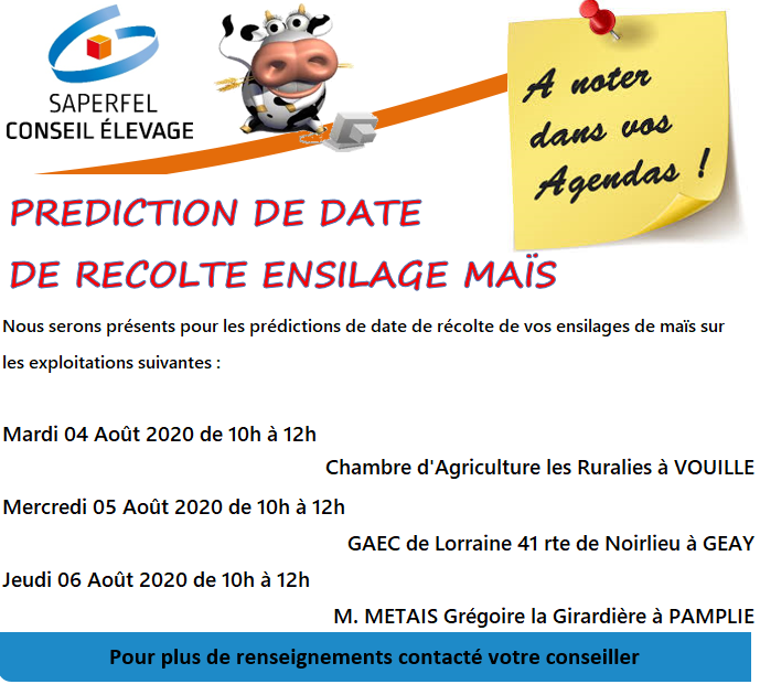 Date prédiction 2020